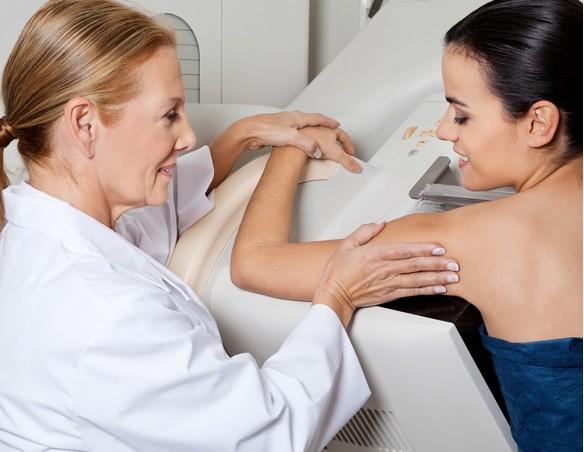 Diagnóstico por imagen-Mamografía