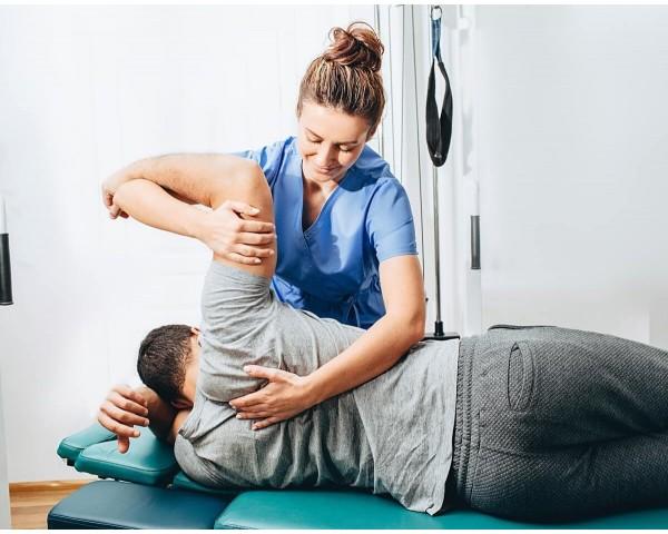 imagen sesión fisioterapia